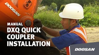 Doosan DXQ Quick Coupler Installation Thumbnail