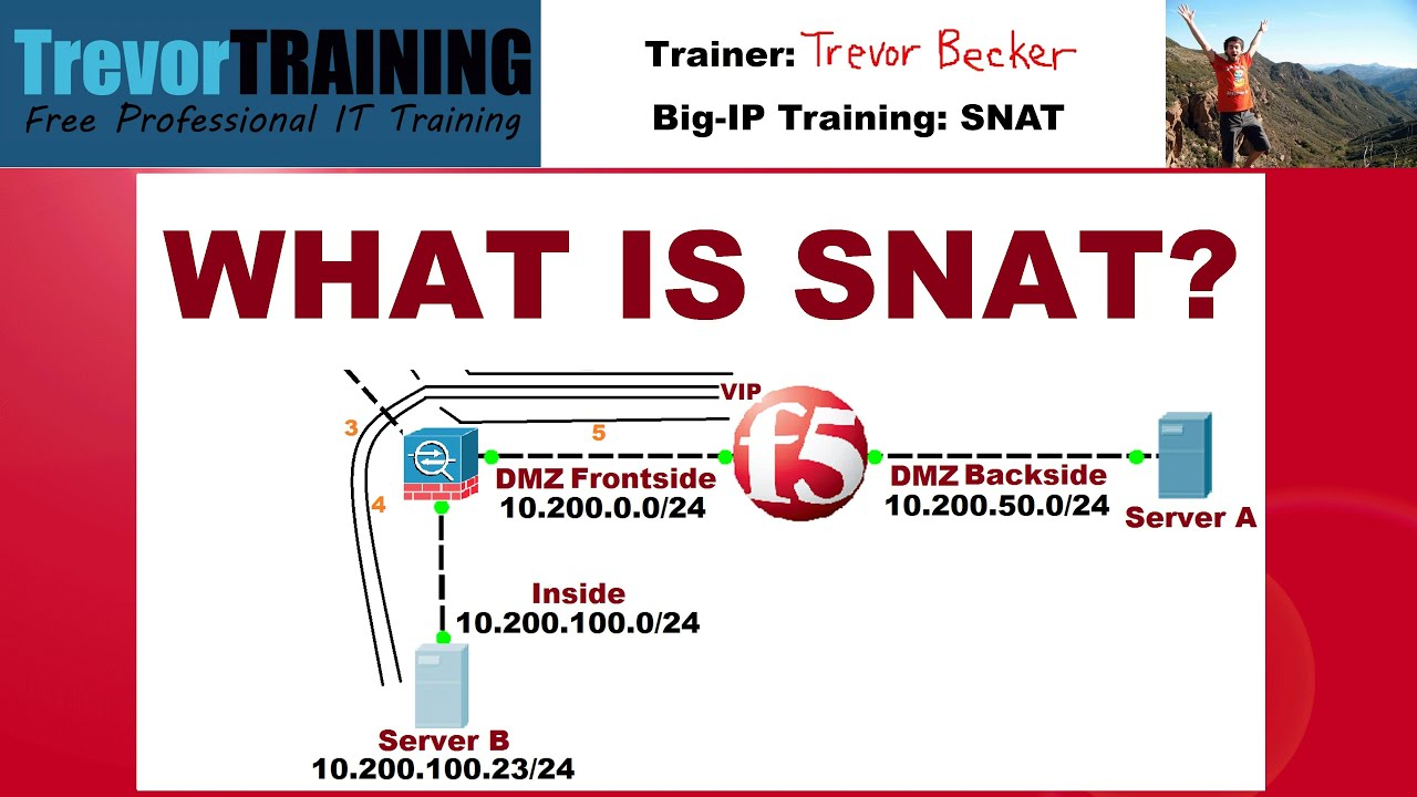 What is SNAT? Reason and solution | Video 20 | Free F5 LTM load balancer  training videos