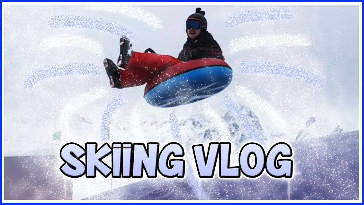 Funny Crashes & Silly Moments!! | Skiing Vlog