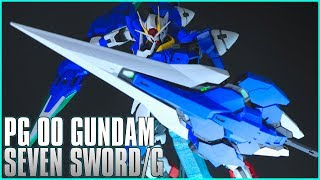 vuclip Perfect Grade PG 1/60 00 Gundam Seven Sword G - MECHA GAIKOTSU REVIEW