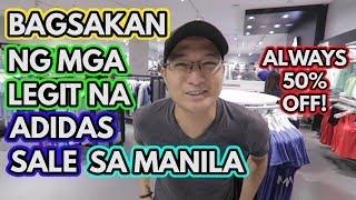 Warehouse Sale Nila Sa Manila! Bagsakan Ng Adidas Shoes. Always Adidas Sale Dito!!