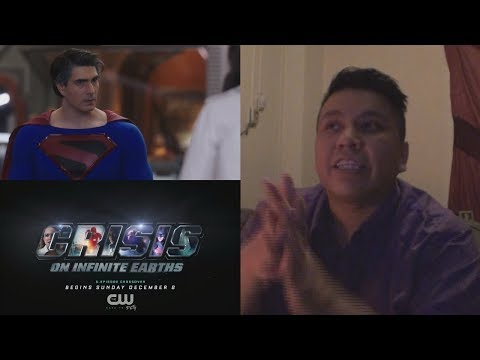 DCTV Crisis on Infinite Earths Crossover 2019 [HD] | Teaser Reaction | Brandon Routh/Ruby Rose