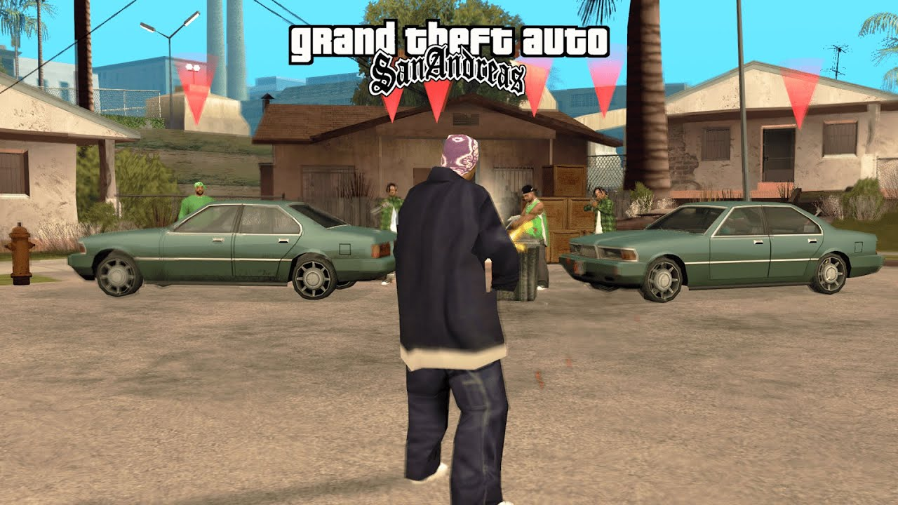 What Happens If The Ballas Take Over Grove Street in GTA San Andreas?