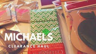 Michael's Clearance Haul
