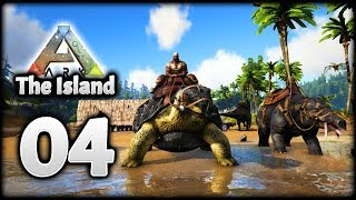 LOOT! Phiomia, Lystrosaurus & Carbonemys! | Let's Play ARK Survival Evolved: The Island | Episode 4