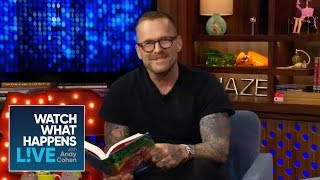 Bob Harper Reads A Sneak Peek Of Andy's New Book, SUPERFICIAL | WWHL