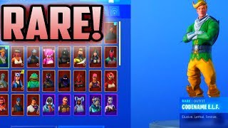 Season 1 RARE Fortnite Locker Showcase! SEASON 2,1 SKINS! 70+ Skins (RAREST LOCKER SHOWCASE)