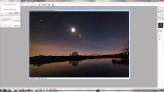 Landschaft mit Sternenhimmel fotografieren