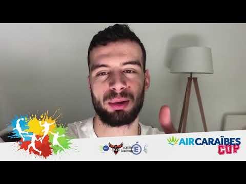 Présentation des joueurs pour la AIR CARAÏBES CUP