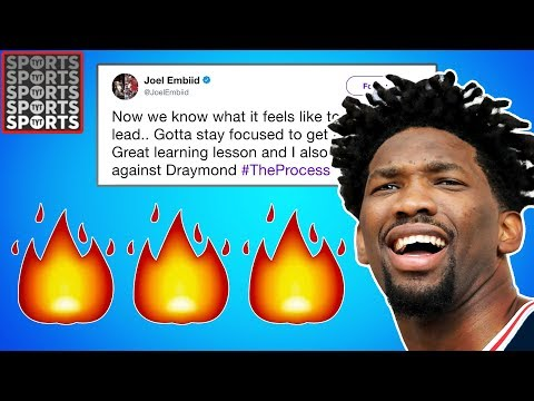 Joel Embiid's Twitter Game Is FIRE