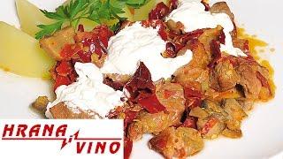 Seosko meso na kumanovski način | Hrana i Vino