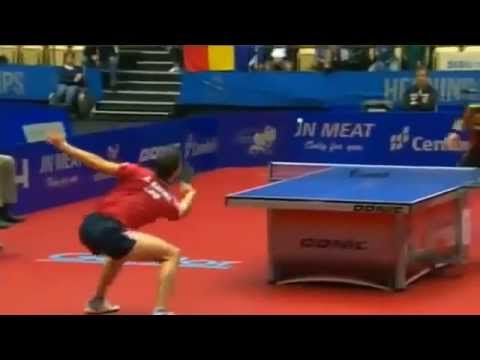Нереальная игра в настольный тенис