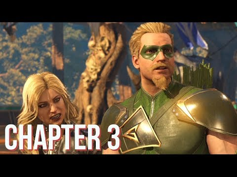 Injustice 2 - Story Mode: Chapter 3. The Brave and The Bold (Green Arrow) [PS4 Pro]