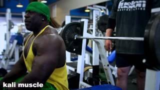 Kali Muscle - CRAZY CHEST TRAINING - (ft.Furious Pete, Big J)