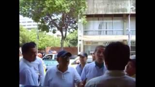 Acalorada discusión entre Lorent Saleh y un candidato al Senado de Colombia por represión de Maduro