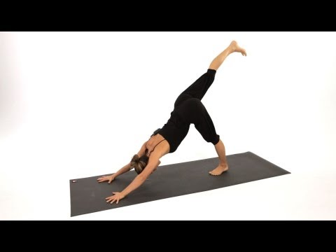 How to Do a Downward Dog Leg Lift   Yoga