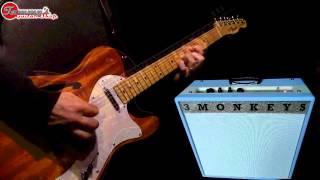 3 Monkeys Amps Organ Grinder & Sock Monkey 18/12 Full Production Demo