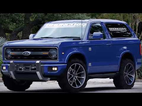 2020 Ford Bronco Concept