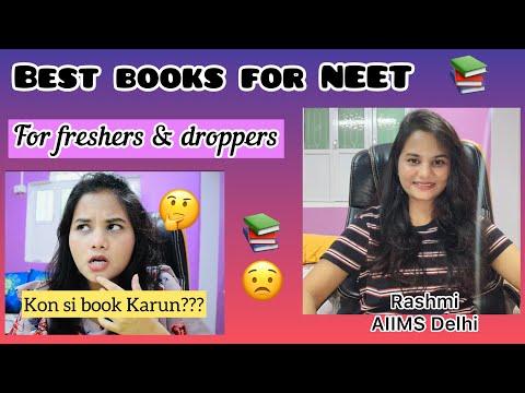 BEST books for NEET, BOOK REVIEW, RASHMI AIIMS DELHI