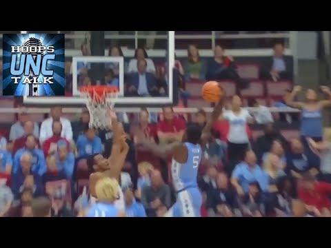 UNC Freshman Jalek Felton throwing it down against Stanford!