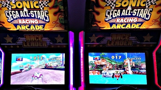 Let's Play Sonic & Sega All-Stars Racing Arcade Game: Sonic The Hedgehog, Shadow, Tails, Amy, Amigo