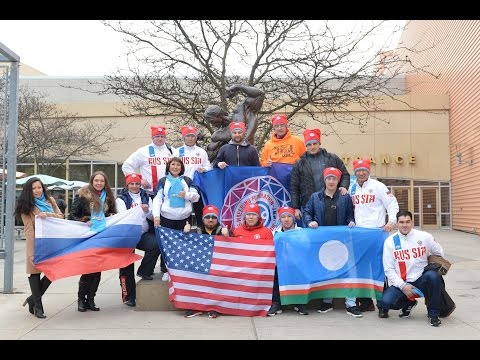 Mas-Wrestling World Championship - 2016 (absolute category) in Columbus, USA. The 1st day.