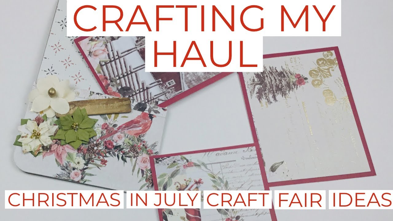 Christmas In July Gift Tags.Crafting My Haul Christmas In July Craft Fair Ideas Gift Tag Set