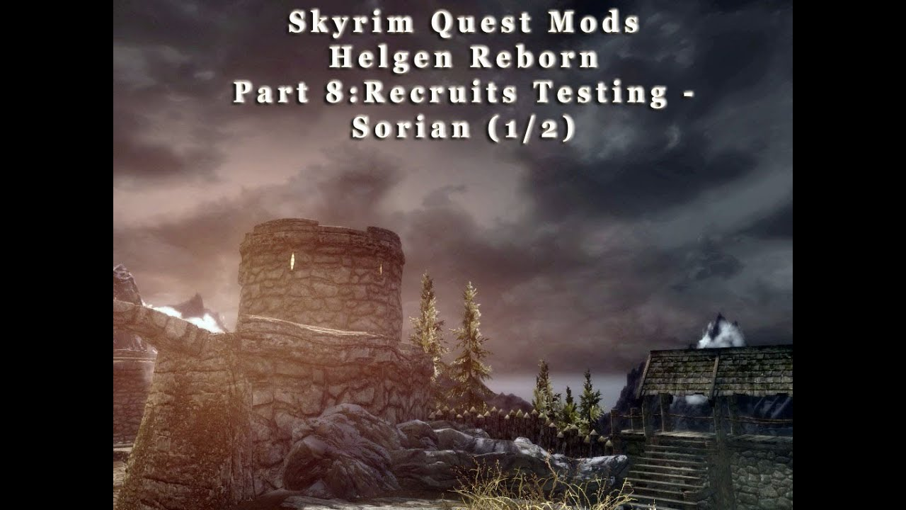 how to find mod quest id skyrim