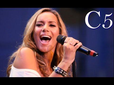 Leona Lewis - Live Vocal Range in A Minute (C3-E6)