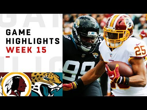 Redskins vs. Jaguars Week 15 Highlights | NFL 2018