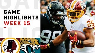 Redskins vs. Jaguars Week 15 Highlights | NFL 2018