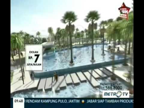 Iklan Pantai Indah Kapuk Apartment - Bukit Golf Mediterania Promo 7 Juta/Bulan Intro Bergaris
