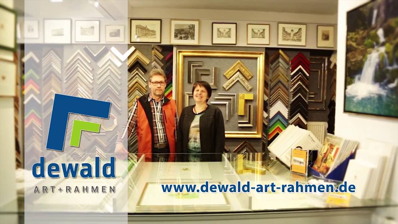 Dewald Art-Rahmen in Waldshut-Tiengen - YouTube