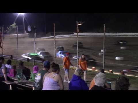 Hummingbird Speedway (6-11-16): Front-Wheel Drive 4-Cylinder Feature