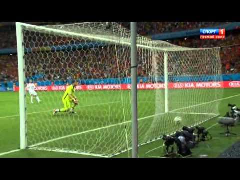 Spain vs Netherlands 1-5 All Goals & Highlights Brazil World Cup 2014 HD