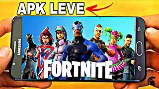 Optimized!! FORTNITE MOBILE MODIFIED FOR WEAKER MOBILES (DOWNLOAD)