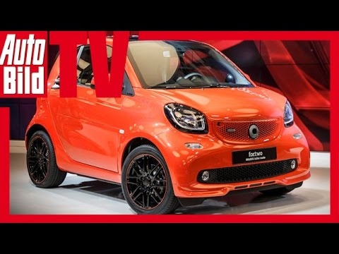 smart brabus auto china 2016 preview youtube. Black Bedroom Furniture Sets. Home Design Ideas