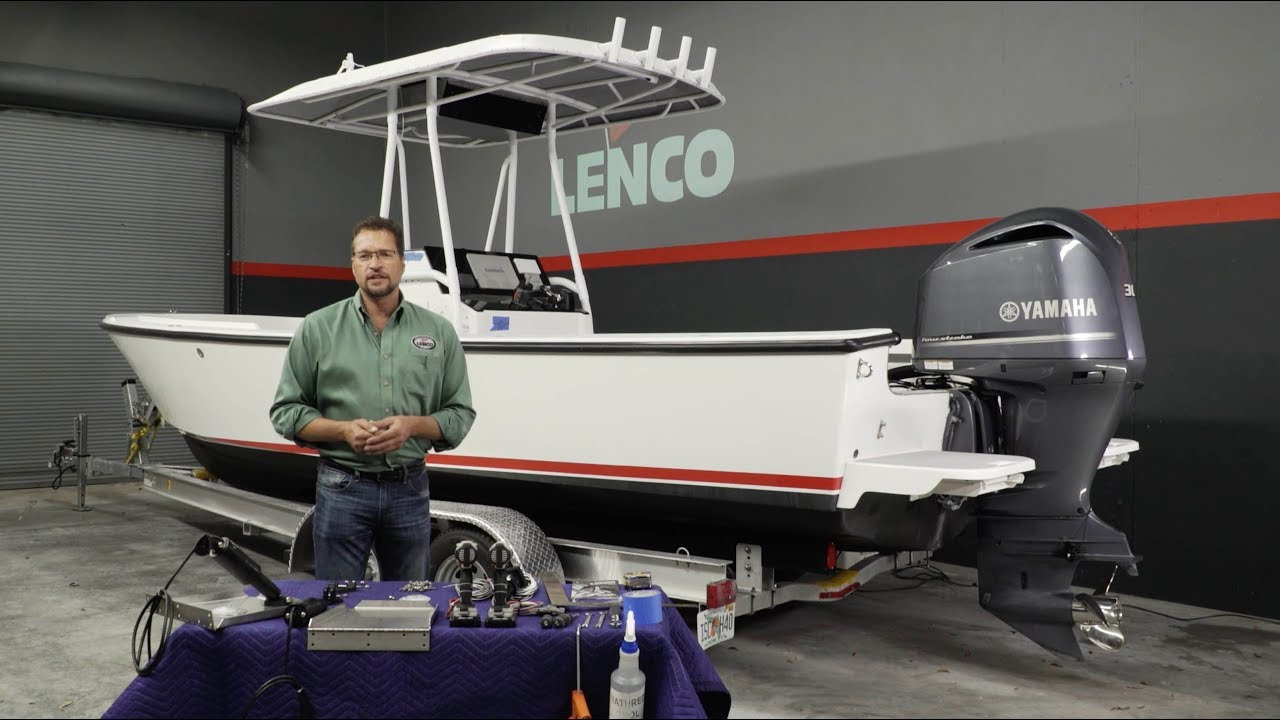 Lenco Trim Tab  U0026 Integrated Switch Installation