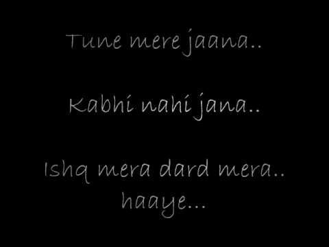 Emptiness tune mere jana lyrics by rohan rathod...