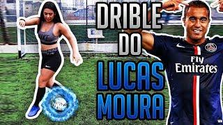 APRENDA O DRIBLE DO LUCAS MOURA PRA ZUAR NO FUTEBOL!!