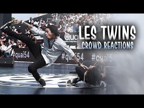 LES TWINS | FUNNY CROWD REACTIONS