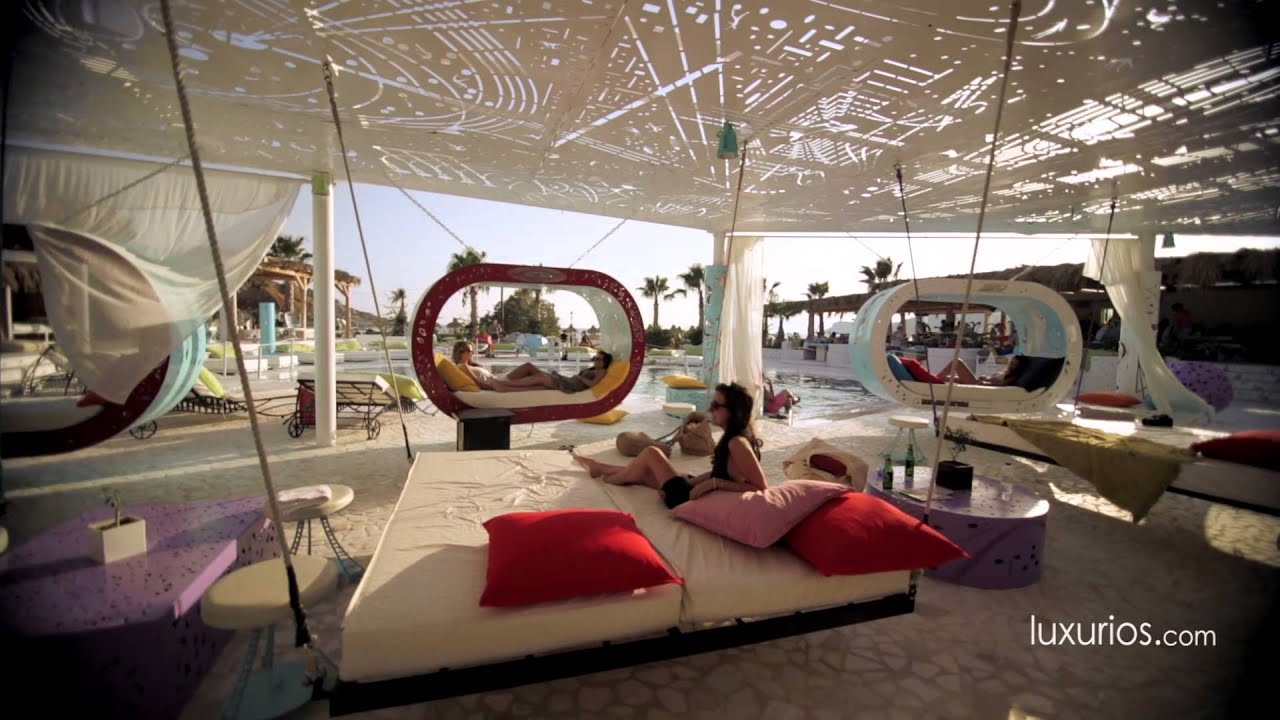Luxurios free beach bar restaurant hd youtube for Beach bar decorating ideas