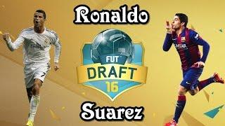 FIFA 16 DEMO, ULTIMATE TEAM DRAFT | RONALDO & SUAREZ |