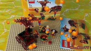 LASTENOHJELMIA SUOMEKSI - Lego 40261 - Kiitospäivän sadonkorjuu setin avaus - osa 2