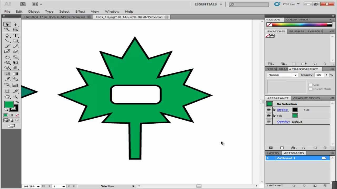 How To Work With Compound Paths And Shapes In Adobe Illustrator