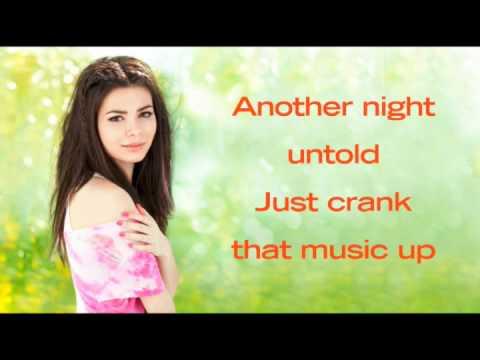Miranda Cosgrove -- Dancing Crazy (new song! 2010 with lyrics) HQ