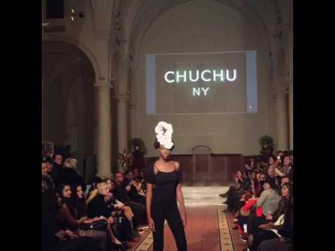 NYFW CHUCHU NY Paper Headpiece The Set NYC www.chuchuny.com