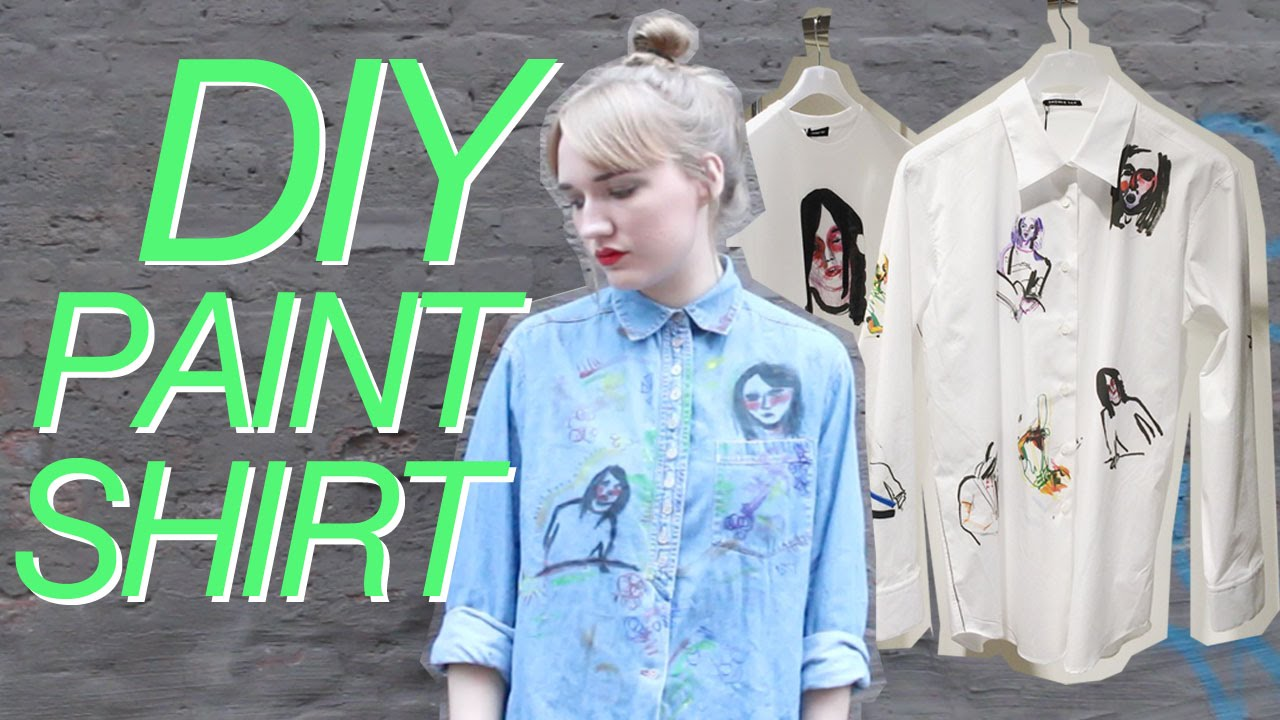 Diy Acrylic Paint Shirt