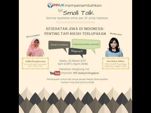 [Small Talk] Kesehatan Jiwa di Indonesia: Penting Tapi Masih Terlupakan