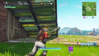 Fortnite Battle Royale Gameplay ( Crackshot Skin / Candycane Pickaxe / Saison 5 Grind )